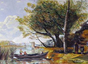 Copy of corot painting