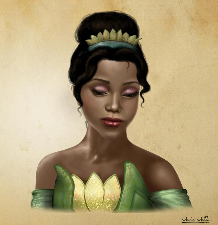 Princess Tiana Art: Tiana By Maria0908 On DeviantArt