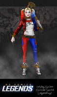 DC Comic Legends: Harley Quinn