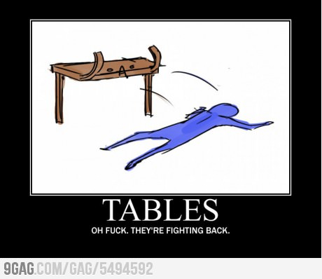 The Table Flip You By FeliTheBanuhBre On DeviantArt - Flip this table flip that table
