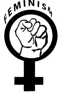 resist  logo feminism by dracoenator
