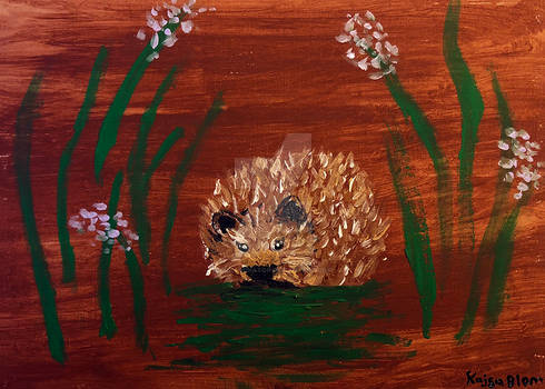 hedgehog acrylics