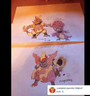 Lava pokemon