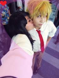 Misaki y Usui Kiss, Cosplay Kaichou Wa Maid Sama