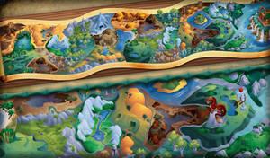 Mahjong Dragon - map design