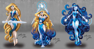 Merlin's Rage Lady of the Lake Evolution