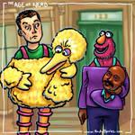 The Age of Nerd - I Play Big Bird, I Play Gordon