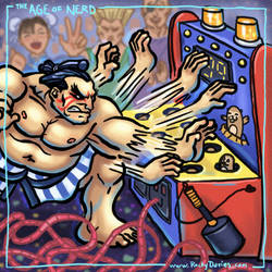 The Age of Nerd - E. Honda vs. Whack-A-Mole by RockyDavies