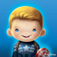 Captain Kid America by RockyDavies