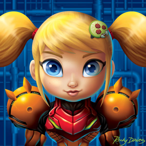Metroid - Samus Suits Up by RockyDavies