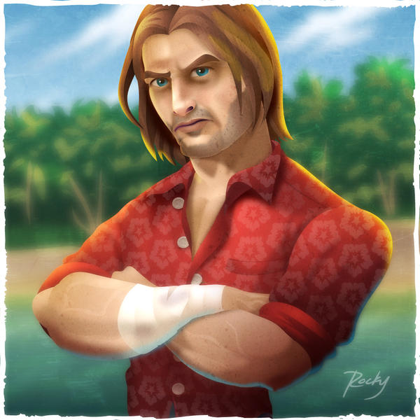 Sawyer from Lost by RockyDavies