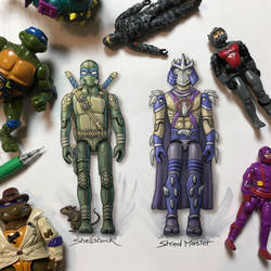 G.I. Joe x TMNT by RockyDavies
