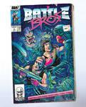 Battle Bros. Comic Cover