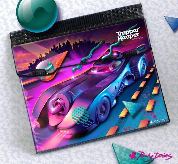 Gotham Nights - Trapper Keeper Edition by RockyDavies
