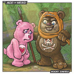 Care Bear Cousins - Ewok by RockyDavies