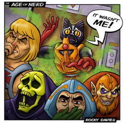 It Wasn't Me! - MOTU He-Man Stinkor by RockyDavies