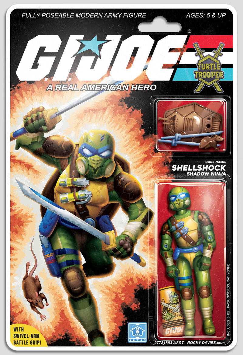 Shellshock:  A G.I. Joe Turtle Trooper