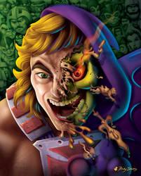 He-Man Face Melt