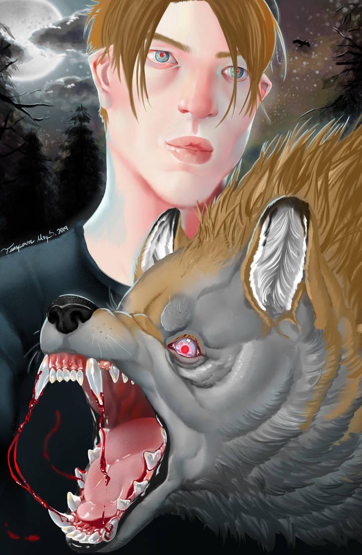 Werewolf portrait  by wollopp