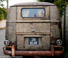 Rusty old van by NickMurrayPhotograph