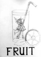 Inktober 2018 - Fruit (4) by YuneMeko