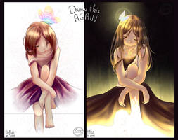 [OC] Draw This Again | Haruka by YuneMeko