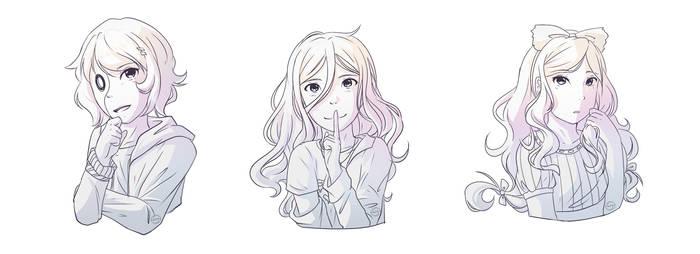 [Request] Kagerou, Miz and Cherri