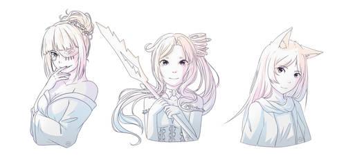 [Request] Magnolia, Ellianne and Anya