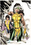 Rogue and Kitty Pryde