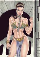 Slave Leia by Medsonlima