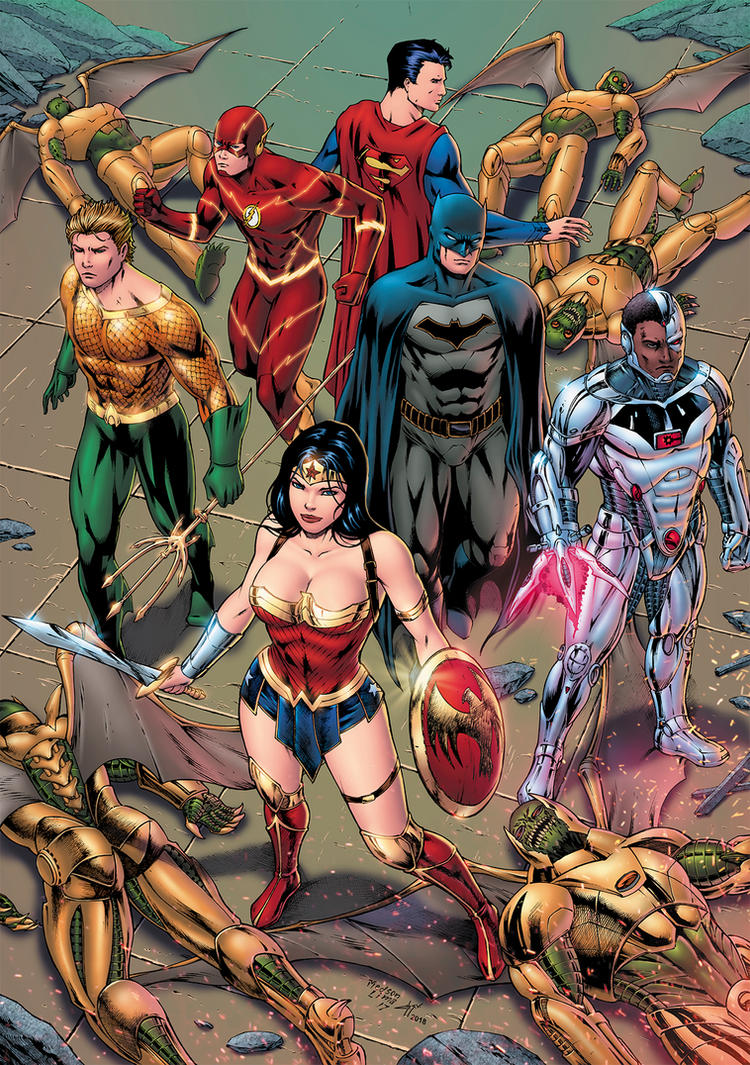 Justice League of America by Medsonlima