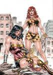 Wonder Woman vs Giganta