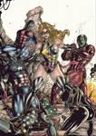Miss Marvel vs Skrulls