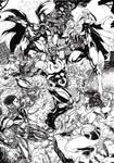 Justice League of America vs Darkseid
