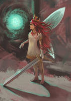 Princess of light by zaknafein77