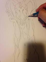Demon whore by RoughRaven