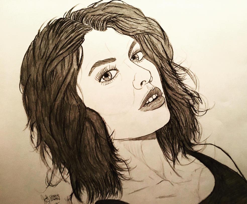 Lauren Cohan  by RoughRaven