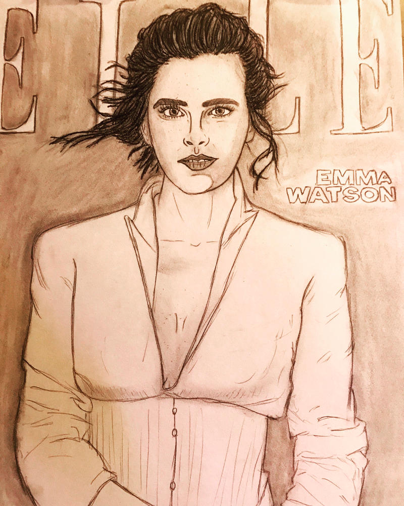 Emma Watson (Elle magazine) by RoughRaven