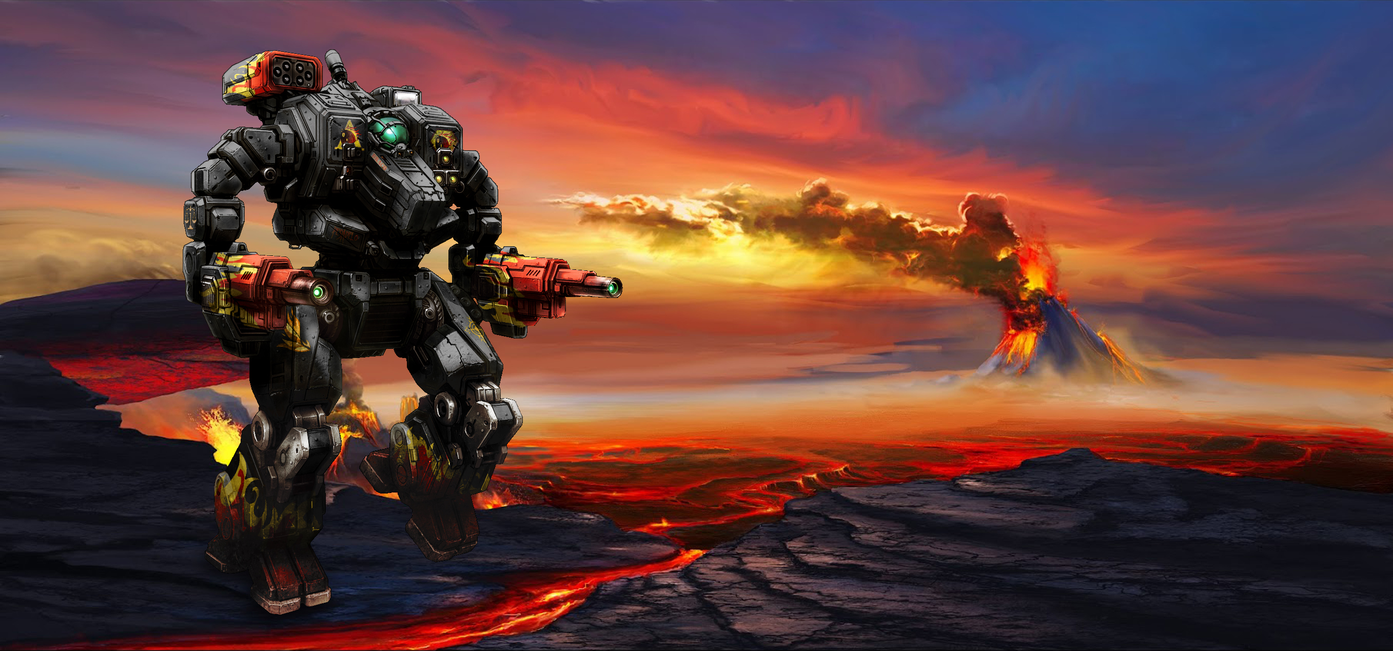 MWO Hellbringer (Loki) wallpaper by Odanan