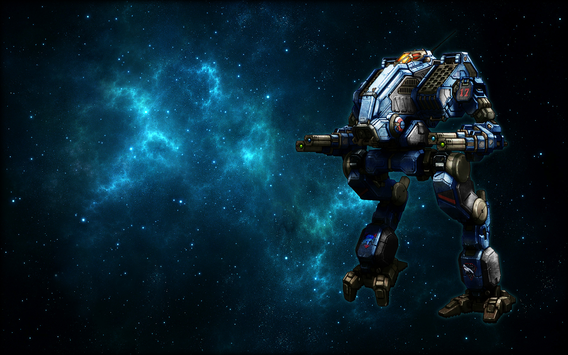 Wallpaper Space Mad Dog By Odanan