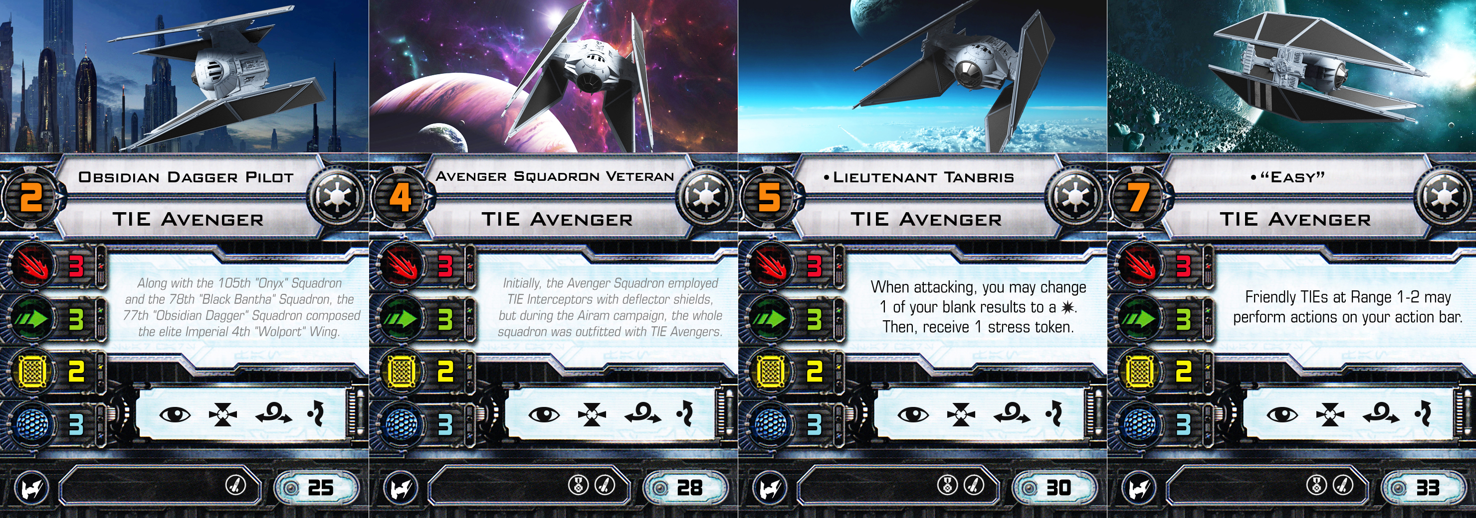 x_wing_miniatures__tie_avenger_pilots_by