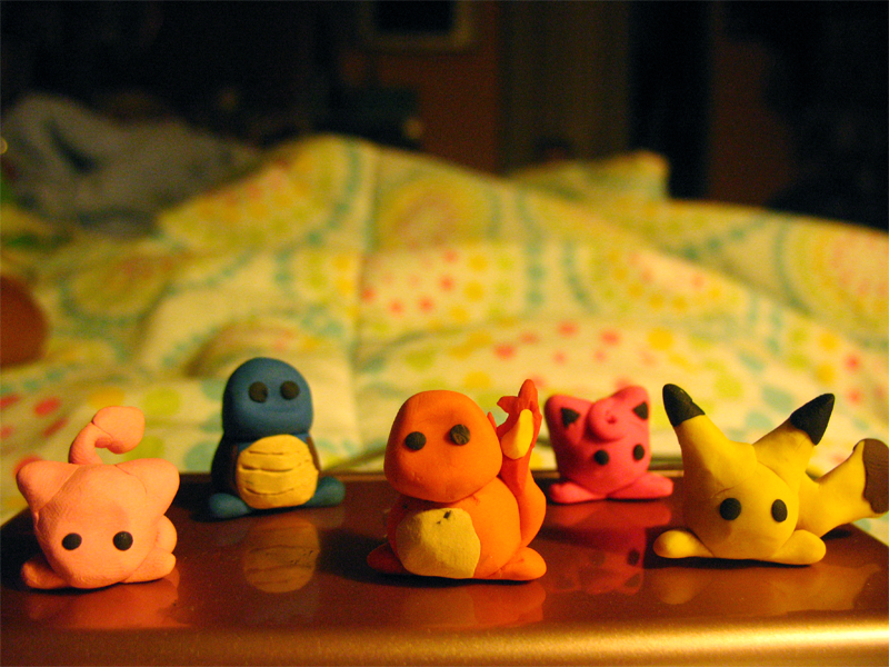 Tiny Pokemon Army? by lacelle