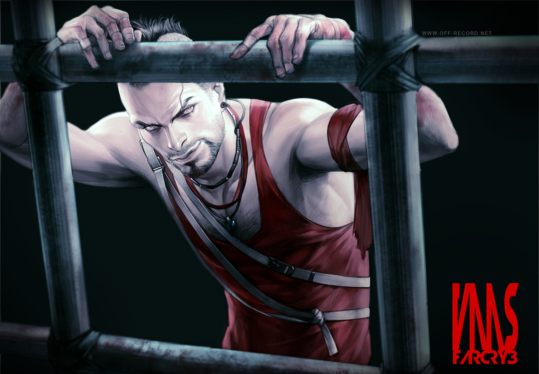 Far Cry 3 - Vaas by offrecord on DeviantArt