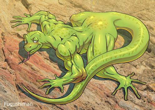 Lizard furry