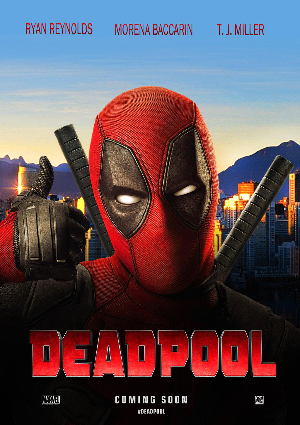 Deadpool (2016) 720p BRRip x264 AAC E-Sub --=R3CoN=-- [850Mb] - PerfectHDMovies