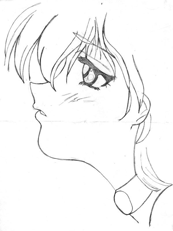 Depressing Easy Drawings Anime By Sad Drawing Girl