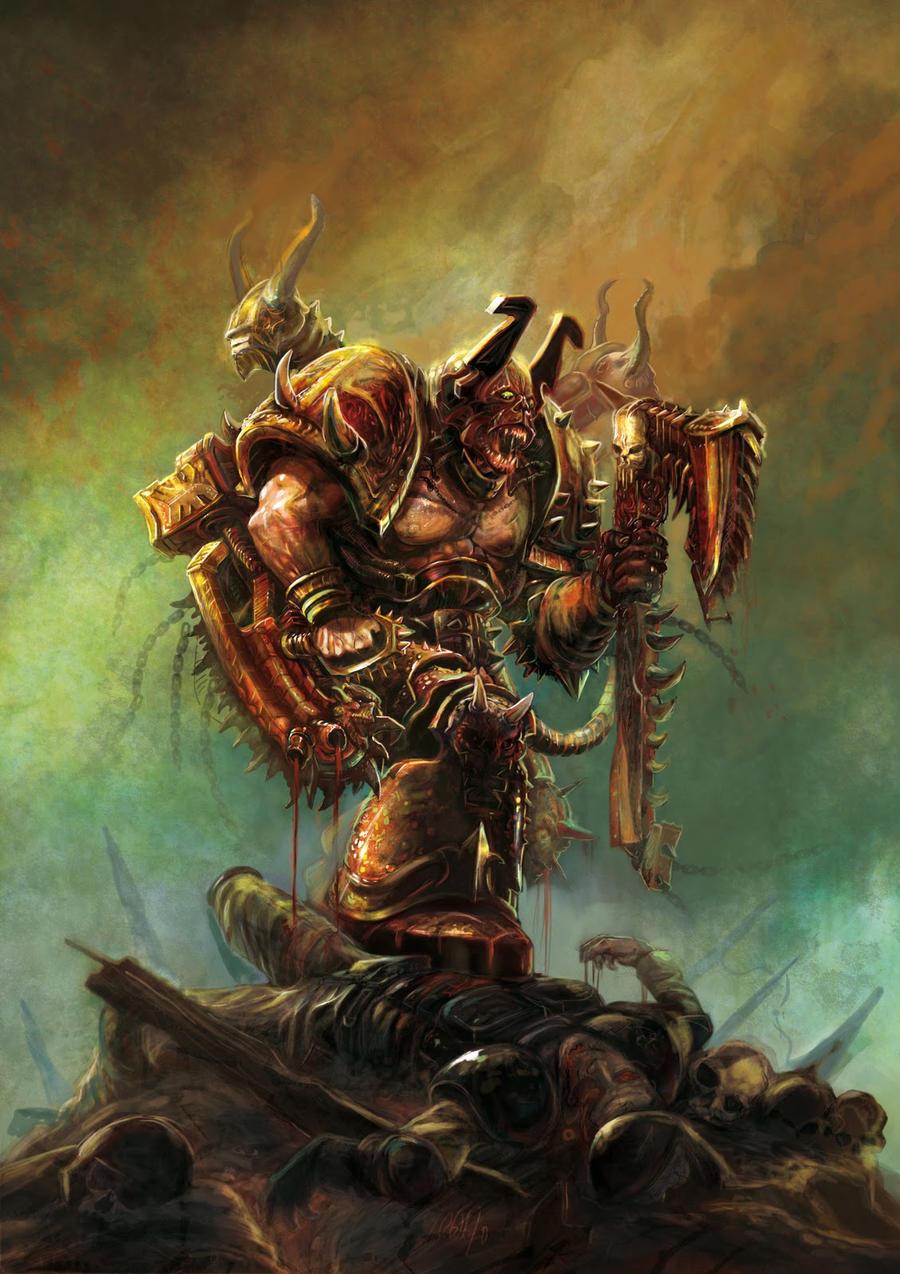 Berserk of Khorne by Yogh-Art
