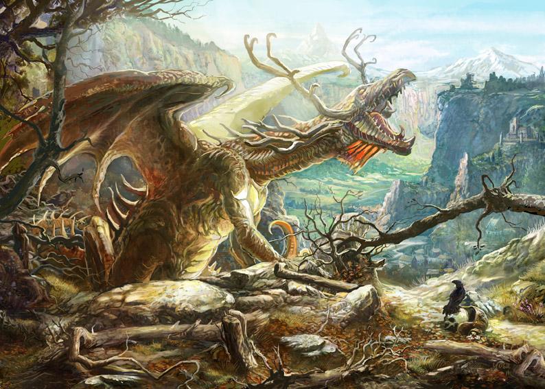 Wood Dragon by Yogh-Art