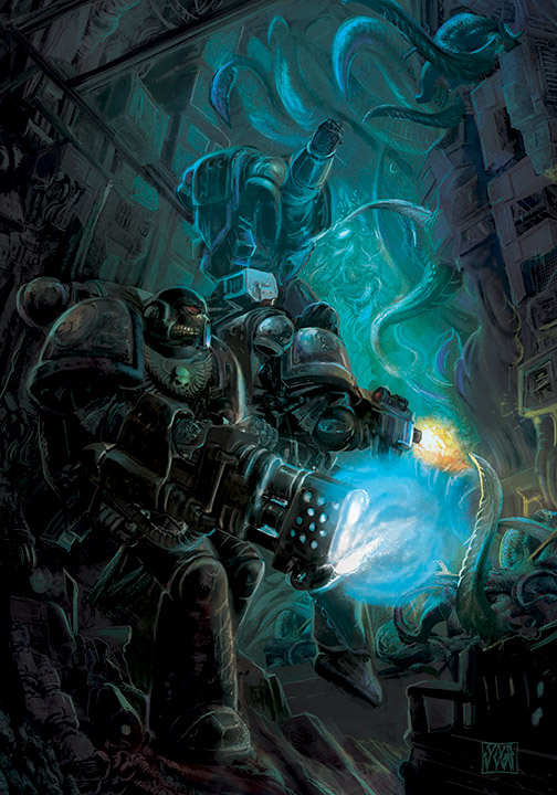 Ark of Lost Souls, Deathwatch, upcoming supplement by Yogh-Art