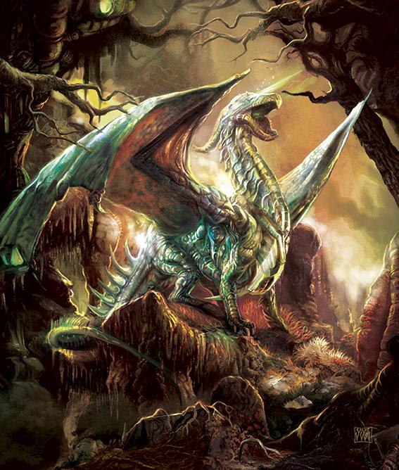Mechanic Dragon by Yogh-Art
